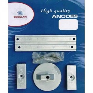 KIT ANODI MERCURY 40/60 HP 4T