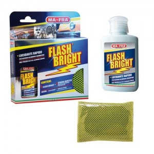 "KIT LUCIDANTE PER ACCIAIO ""FLASH BRIGHT"" BY MAFRA"