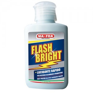 "LUCIDANTE PER ACCIAIO E CROMATURE ""FLASH BRIGHT"" BY MAFRA"