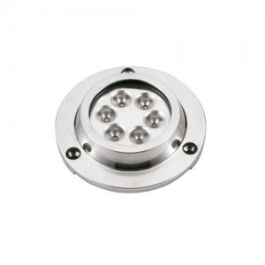 FARETTO SUBACQUEO LED ROUND STEEL