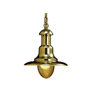 LAMPARA CLASSICA IN OTTONE
