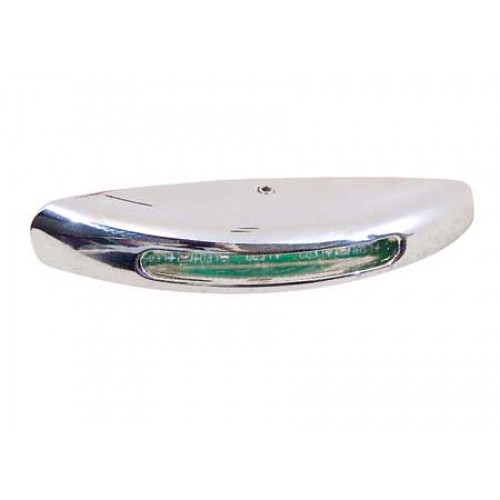 LUCE DI CORTESIA LED 12V IN OTTONE CROMATO