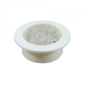 PLAFONIERA PUSH ON RECESSED 16 LED 12V